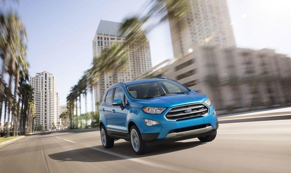 Pour son arrivée aux Etats-Unis, le Ford Ecosport passe par la case (gros) restylage, avec une face avant totalement renouvelée et un intérieur bien plus qualitatif. Bientôt chez nous ?