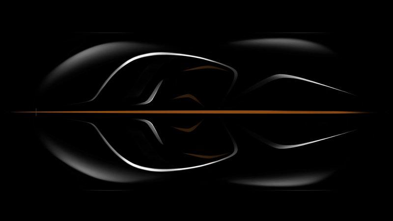 """McLaren tease sa future """"Hyper-GT"""" nommée pour l'instant BP23. Elle proposera 3 places de front.... comme sa célèbre ancêtre la F1 dont elle pourrait être la digne héritière."""