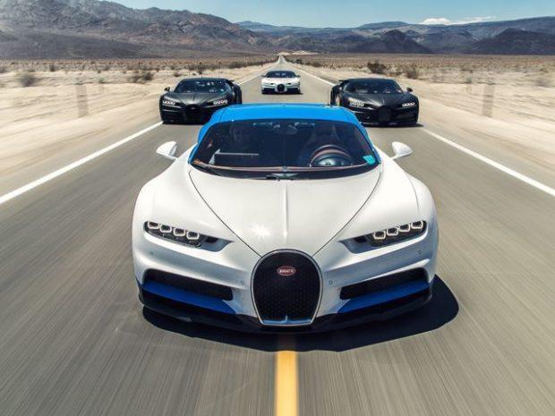 Bugatti a mis en ligne cette semaine une très belle vidéo. Quatre Chiron ont parcouru 35 000 kilomètres, en plein cagnard, dans la vallée de la mort aux Etats-Unis. A retrouver ici. https://www.youtube.com/watch?v=YdGAGshHLec