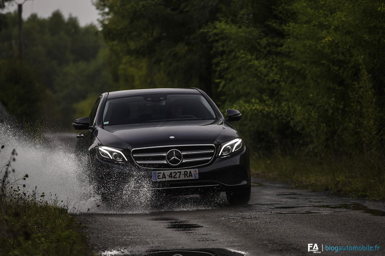 Essai Mercedes Classe E 220d
