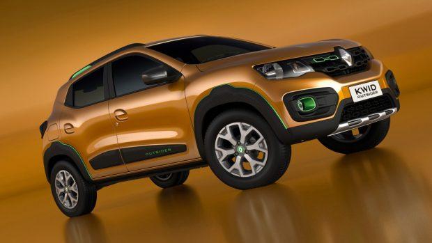 Et d'ailleurs en évoquant ce salon, Renault y présente la Kwid Outsider Concept. Ce show-car est là pour annoncer la venue très prochaine sur le marché brésilienne de la Kwid.