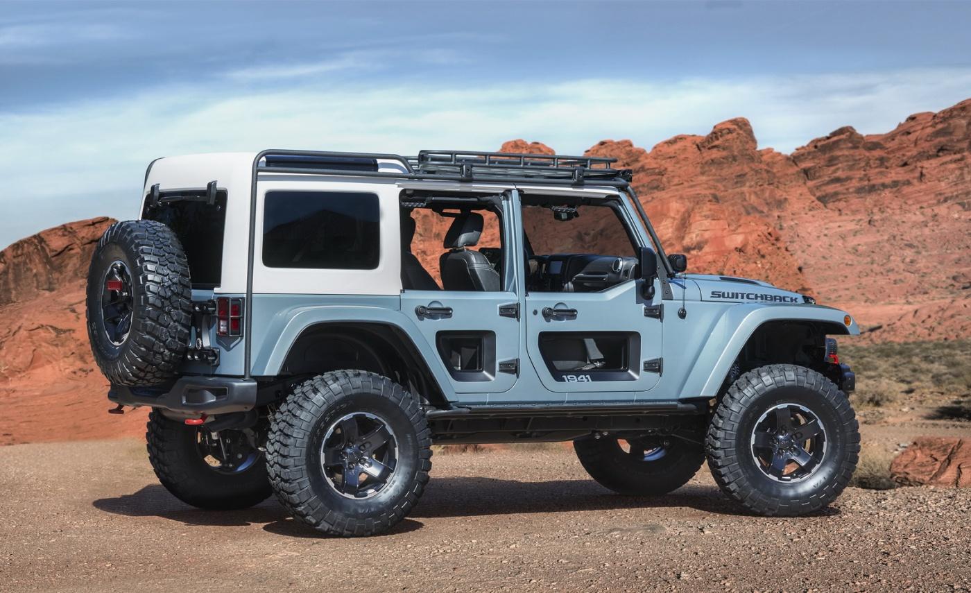 Jeep Wrangler V8 2017 >> Les concepts du Jeep Easter Safari 2017 - Blog Automobile