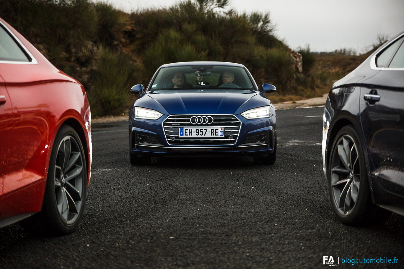 Essai Audi A5 et S5 2017