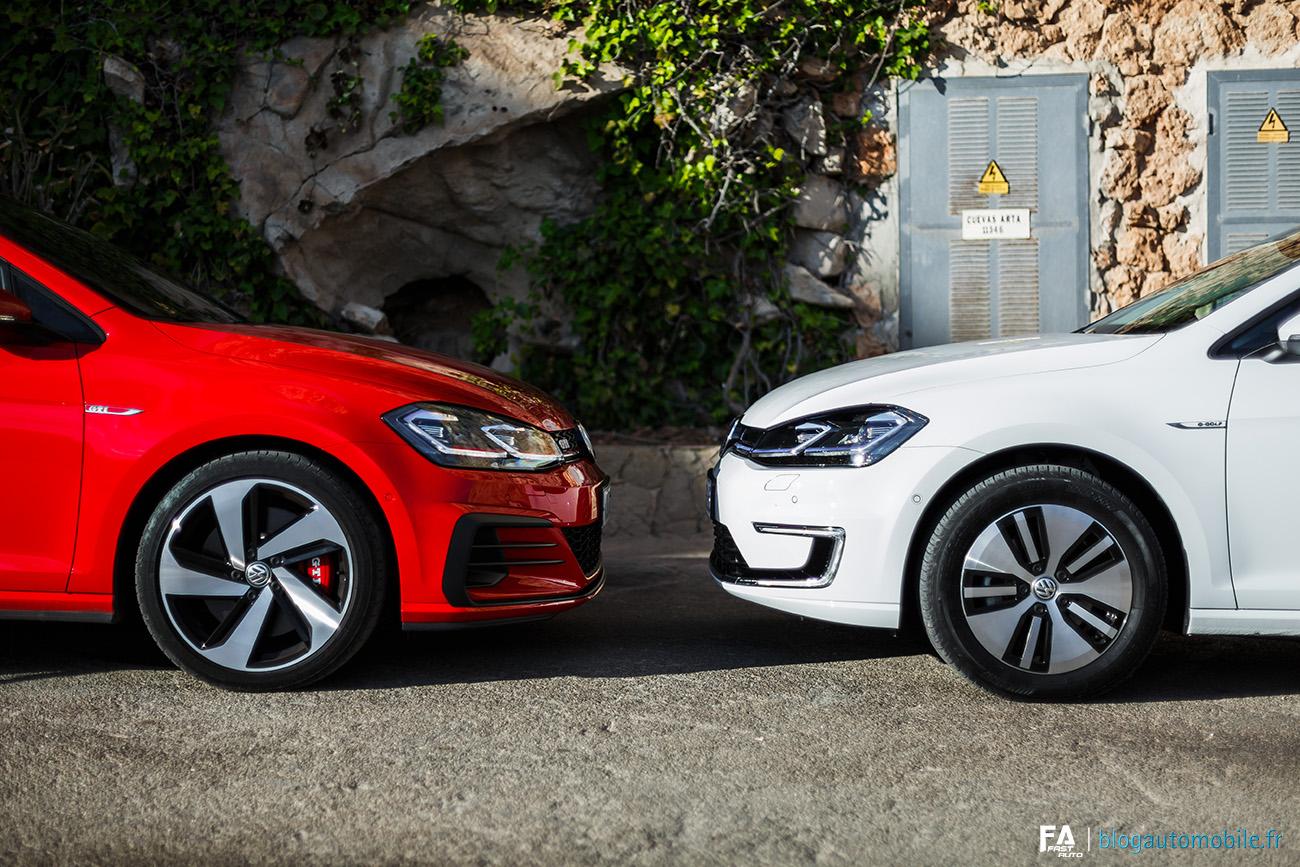Essai Volkswagen Golf GTI Performance e-Golf 2017 - Photos