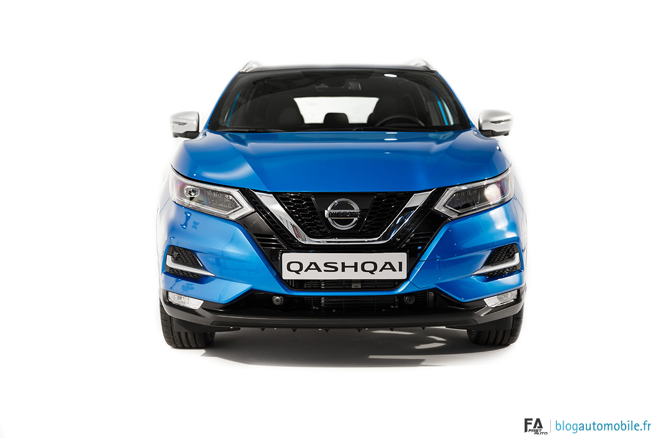 d couverte du nissan qashqai 2017 au studio rouchon blog automobile. Black Bedroom Furniture Sets. Home Design Ideas