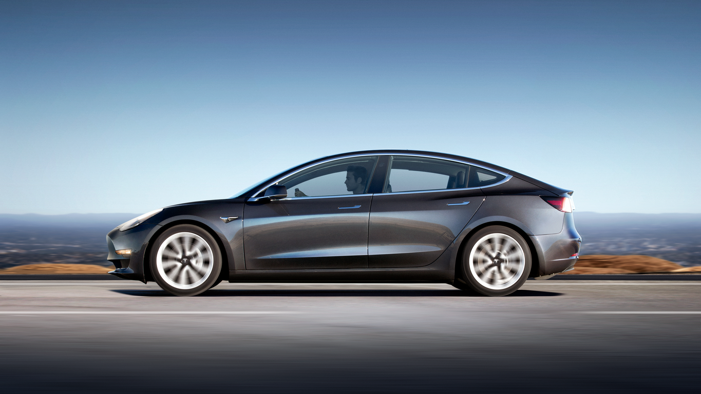 Model 3 Profile Grey New
