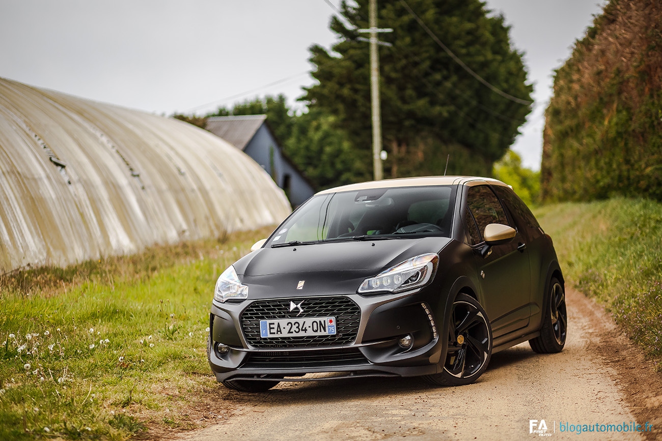 Essai DS 3 Performance Black Special - Photo