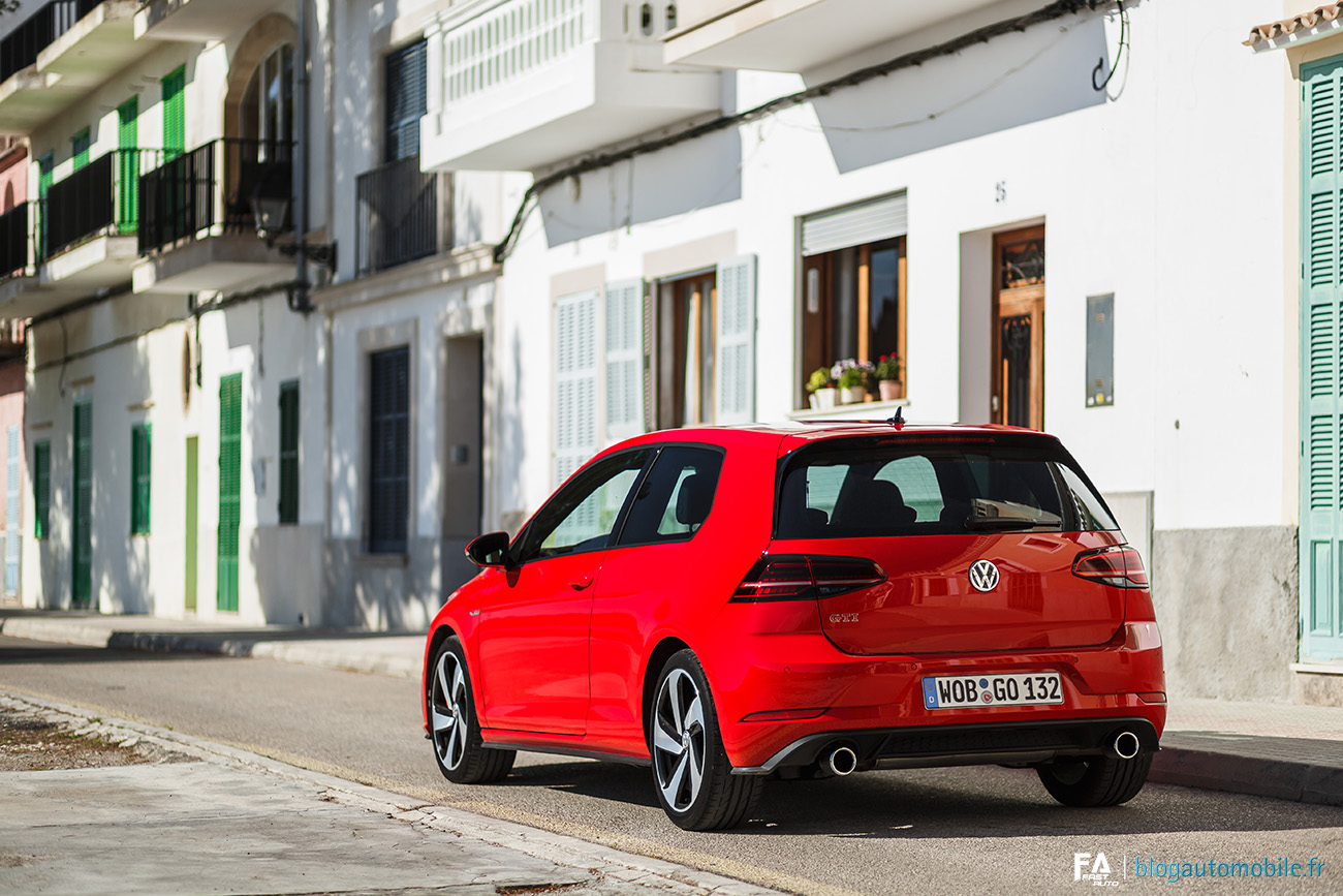 Essai Volkswagen GTI Performance Golf - Photos