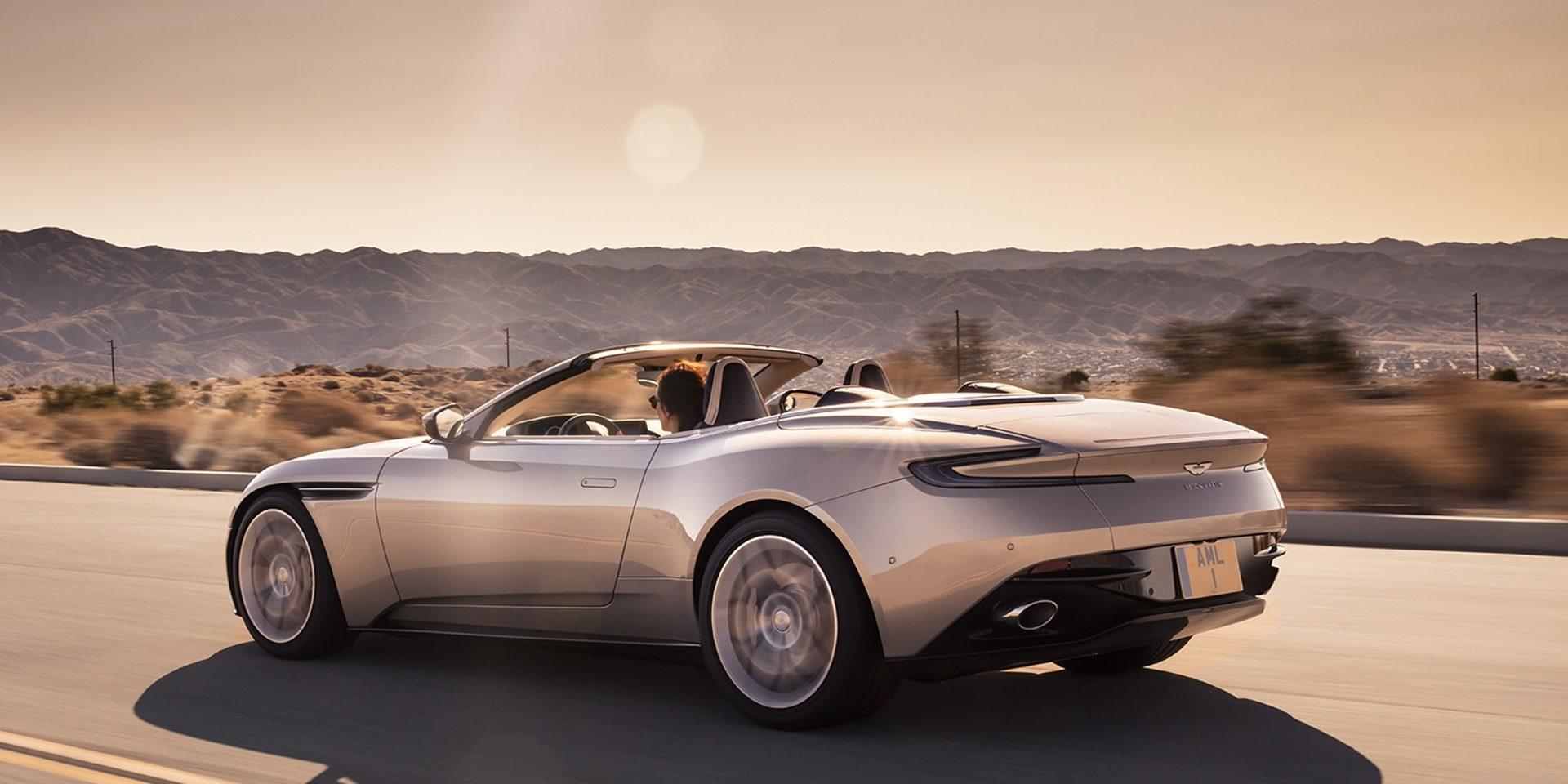 Nouvelle Aston Martin D11 Volante