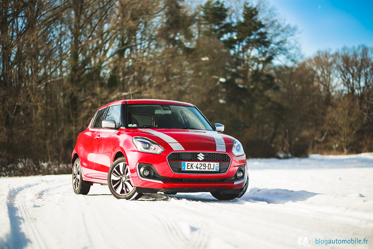 Essai Suzuki Swift SHVS (1.0 Boosterjet)