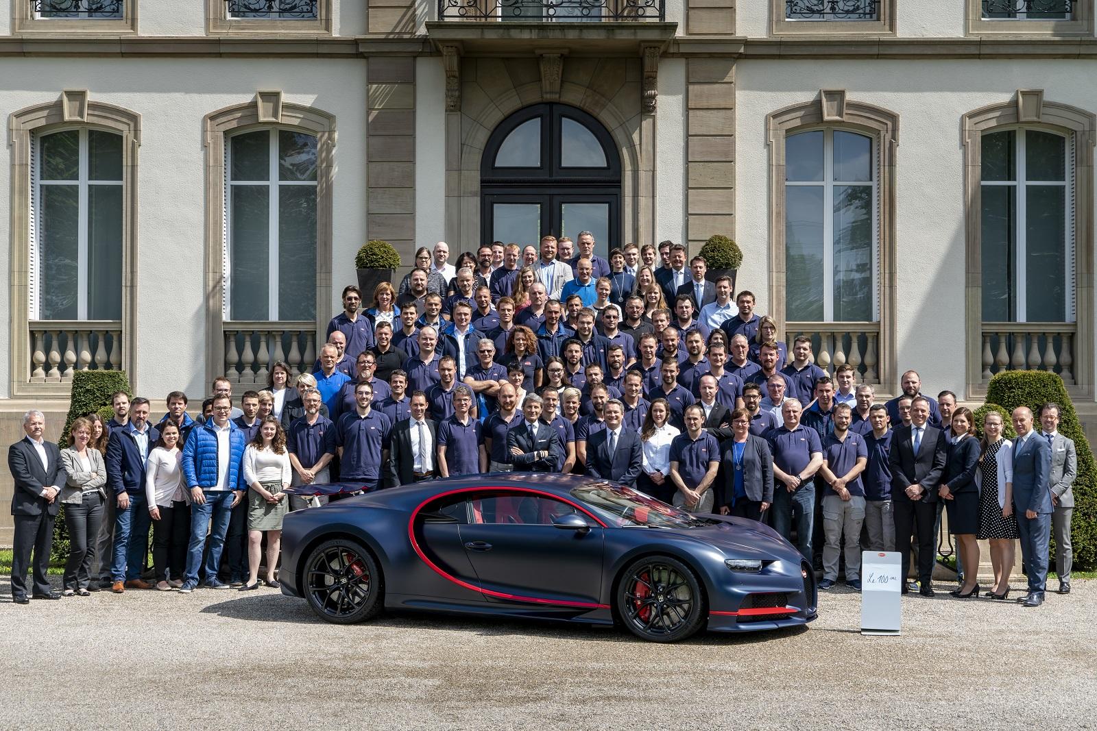 Bugatti Chiron 2018