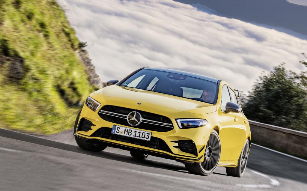 Mercedes-AMG relance les hostilités avec la A 35 (avec vidéo)