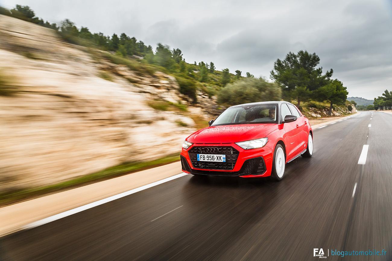 Essai nouvelle A1 2019 Audi (30 TFSI 116)Essai nouvelle A1 2019 Audi (30 TFSI 116)