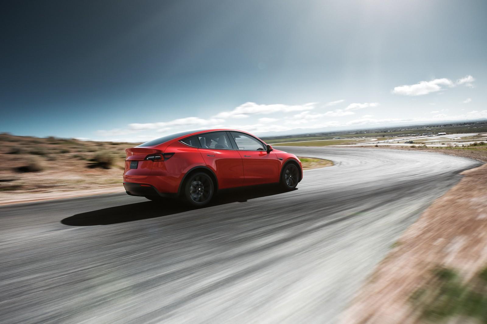 Le SUV compact électrique se dévoile — Tesla Model Y