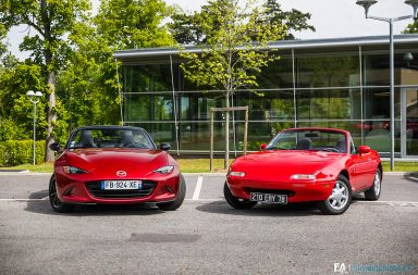 Essai Mazda MX-5 ND 2019 (et NA 1989)