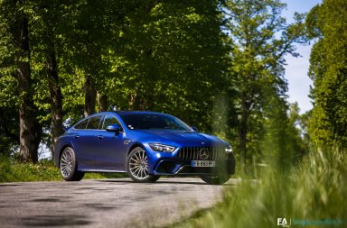Essai Mercedes AMG GT Coupé 4 portes 63S 4Matic+ - Photo