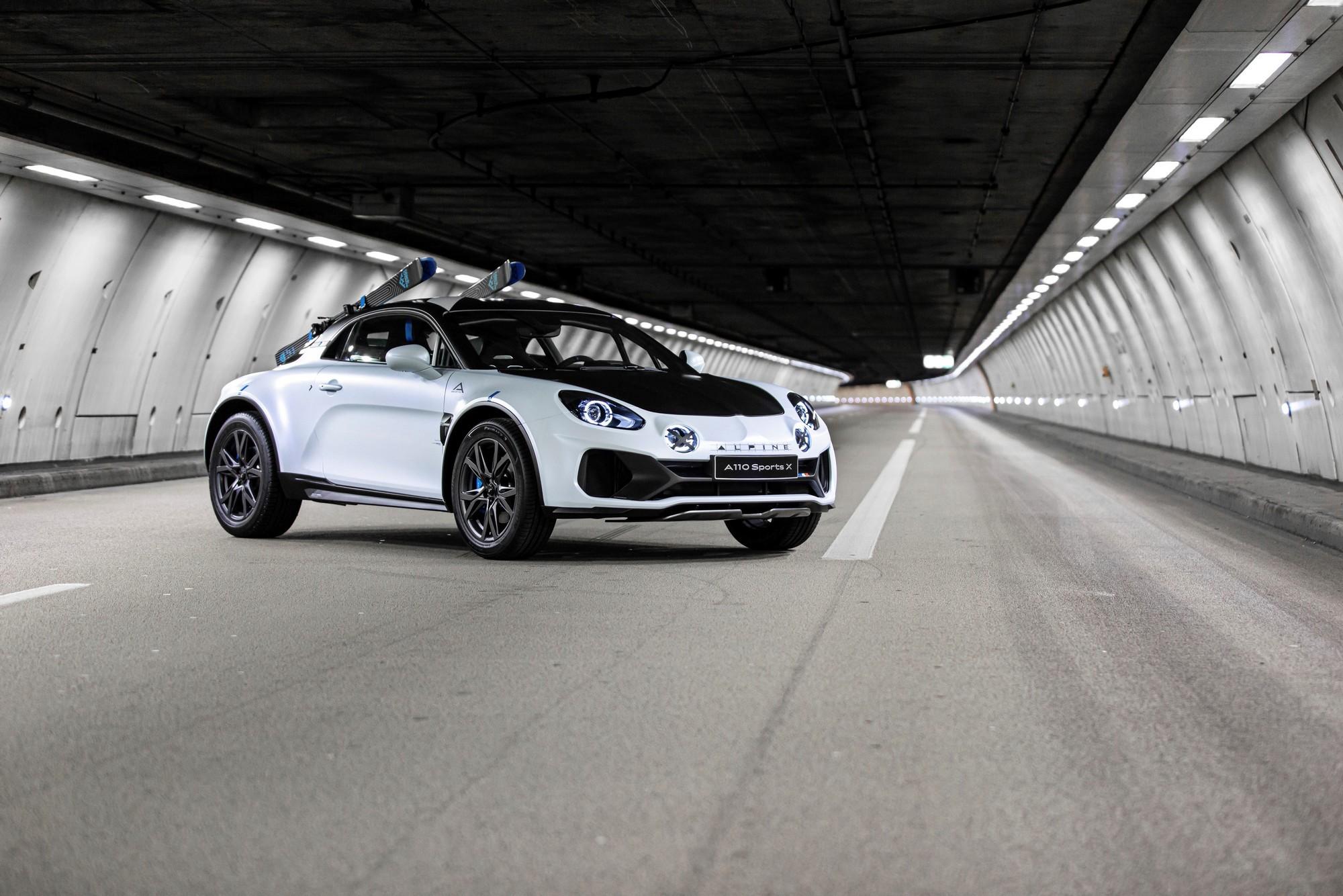 Concept Alpine A110 SportsX : en mode SUV !